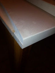Restoration of marble, quartzite granite.
