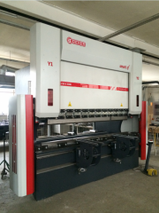 The bending machine with program control (length 3000 mm are flexible)