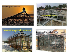 Metal fabrication, doors, grills, gates, forged