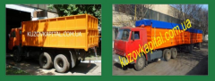 Production of a body of the dump truck on KamAZ