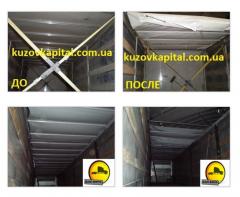 Сдвижная крыша на полуприцеп, автомобиль - изготовление и ремонт