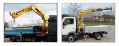 Установка манипуляторов на грузовой транспорт