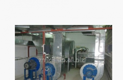 Design of ventilation and conditioning