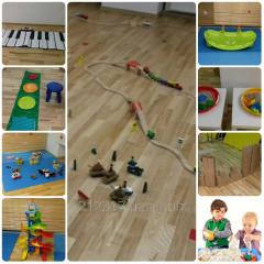 Игровая комната с паровозиками TrainLand для детей