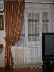 Изготовление штор из плотных тканей