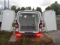 Термоизоляция, цельнометаллических фургонов
