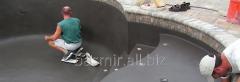 Construction of concrete basins