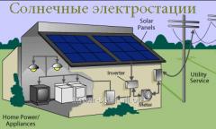 Солнечные электро-станции под ключ Кременчуг