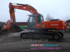Rent of the caterpillar HITACHI ZX280LC-3