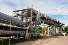 Powder aluminum and powder aluminum for production