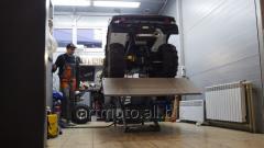 Repair of motor-equipmen