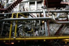 Boilers of a high pressure