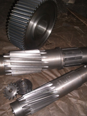 Production of gear wheels under the order