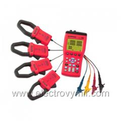 Rent of the analyzer of quality of the electric