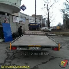 Вантажоперевезення на відкритій платформі