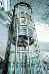 Design of panoramic elevators