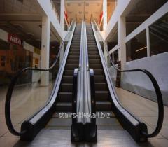Facing of escalators
