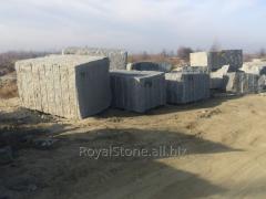 Granite processing, production of memorial