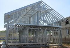 Строительство из легких стальных конструкций