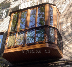 Устройство балконов