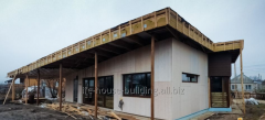 Construction of frame houses