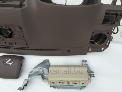 Repair of a safety cushion in Airbag Knee knees
