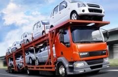Транспортування транспорту замовника в указане місце