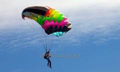 Самостоятельные прыжки с парашютом в 900 м.