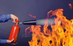 Servicing of fire extinguishers