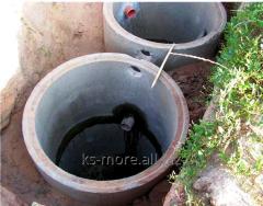 Drain holes, septic tanks