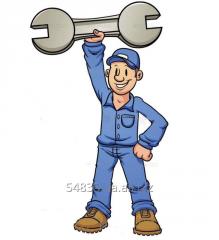 Ремонт кранов и грузоподьемного оборудования