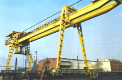 Repair of the bridge and gantry crane