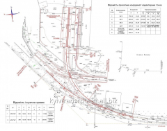 Design of railway tracks with coordination