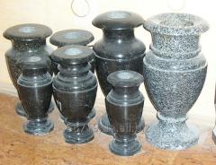 Изготовление ваз натурального камня