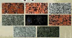 Изготовление плитки гранитной