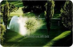 Delivery and installation of irrigation systems of