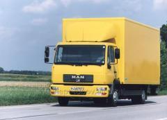 Международная перевозка сборных грузов  из Туркмении