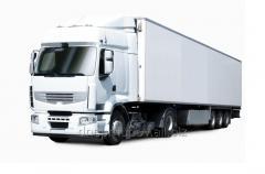 The international transportation of combined freights to Uzbekistan