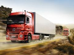 Международная перевозка сборных грузов  в Таджикистан