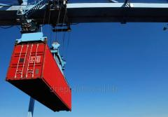 Международные контейнерные перевозки  из