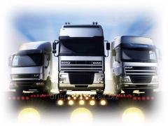 Международные контейнерные перевозки  в страны Европы