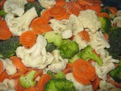 Перевозка замороженной овощной продукции из стран