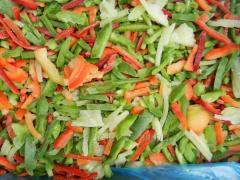 Перевозка замороженной овощной продукции в Италию