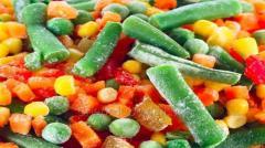 Перевозка замороженной овощной продукции в Боснию Герцоговину