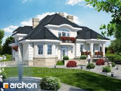 Projects of big houses more than 200 m2p the