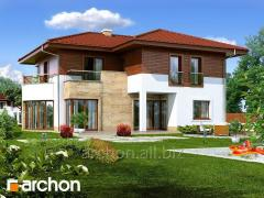 Projects of big residences Willa Victoria Archon