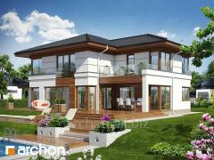 Projects of houses in modern style Willa Veronica