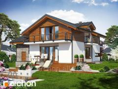 Projects of houses in the modern House style in
