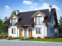 Проекты домов в современном стиле Дом под гинко 2 Archon