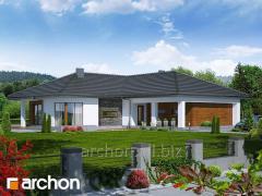 Проекты домов в современном стиле Дом под какао Archon